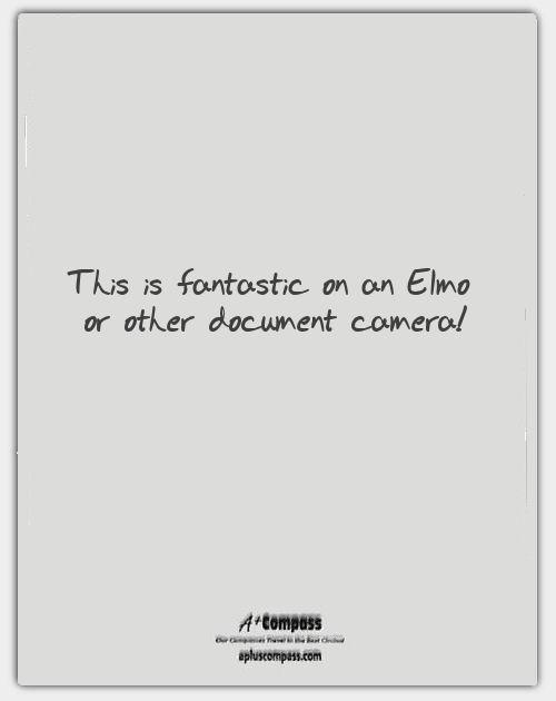 A+ Compass: Clear Sheet Template